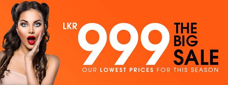 LKR 999 Only