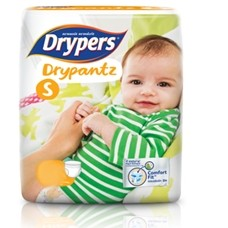 Drypers Baby Diapers DryPantz Small 26 Pcs large 1