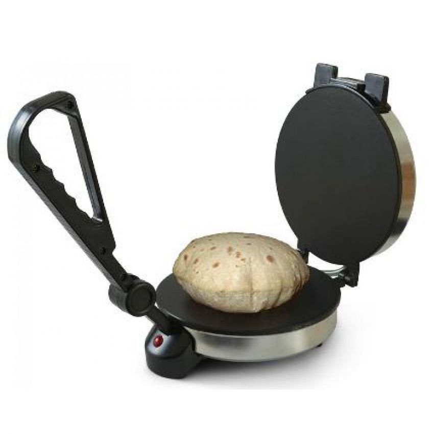Chapati Maker Silver large 2