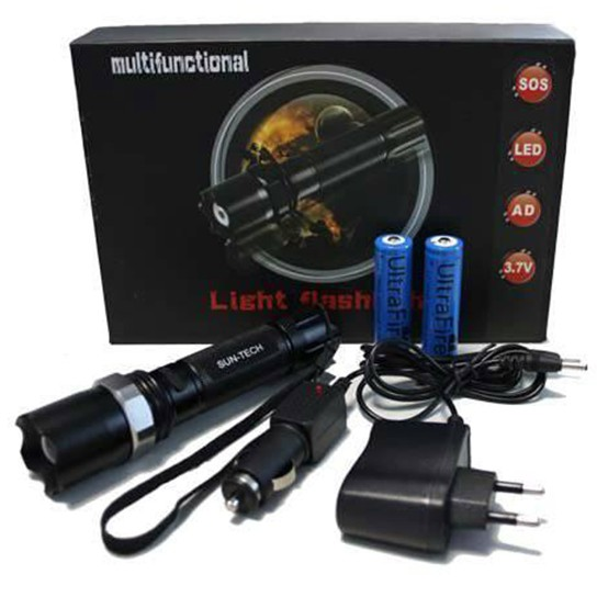 Rechargeable Flashlight large 1