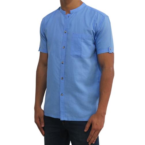 Mens Light Blue Shirt C-PCF0074SS134