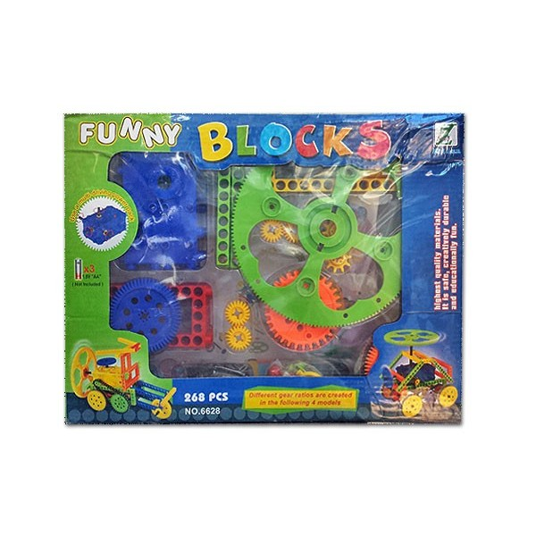 268 Pcs Funny Blocks large 1