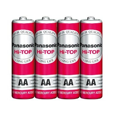 Panasonic HiTop Manganese AA Size Battery large 1