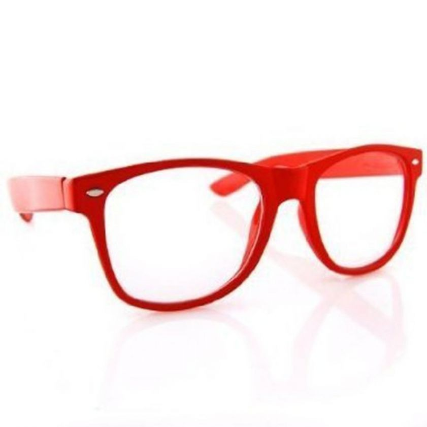 RayBan Nerds Red large 1