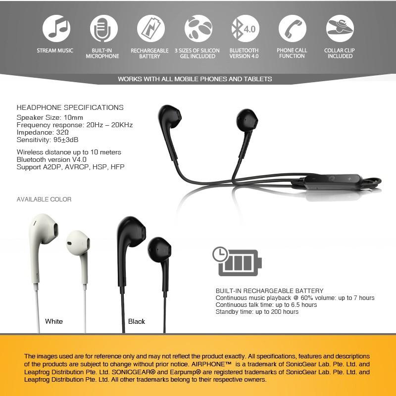 SonicGear Airphone UL500
