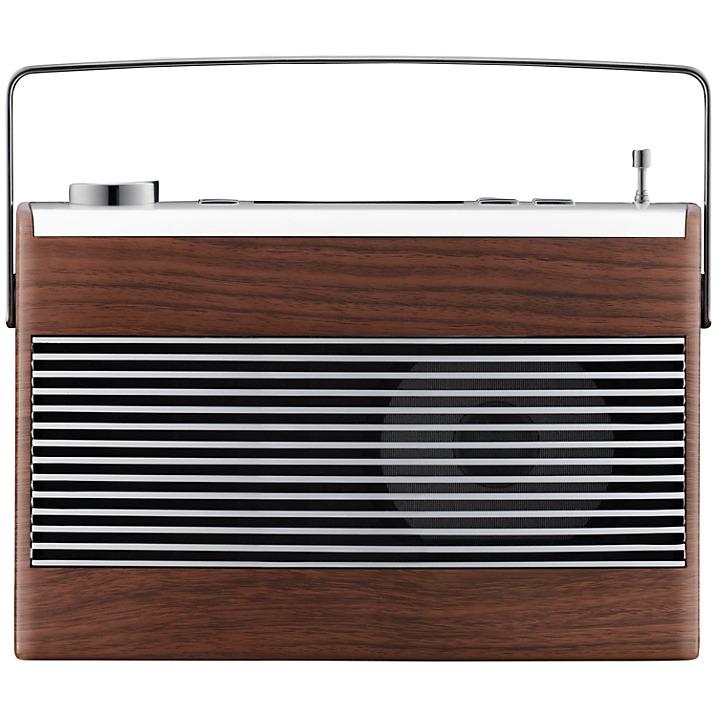 John Lewis Aston DAB FM Radio Walnut