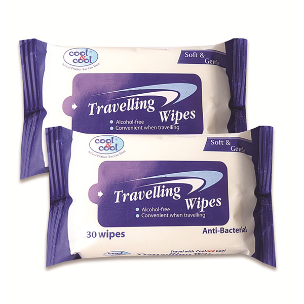 Travelling Wipes 30pcs large 1