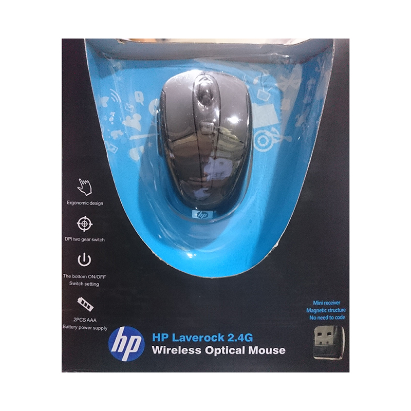 HP Laverock 2.4g Wireless Mouse