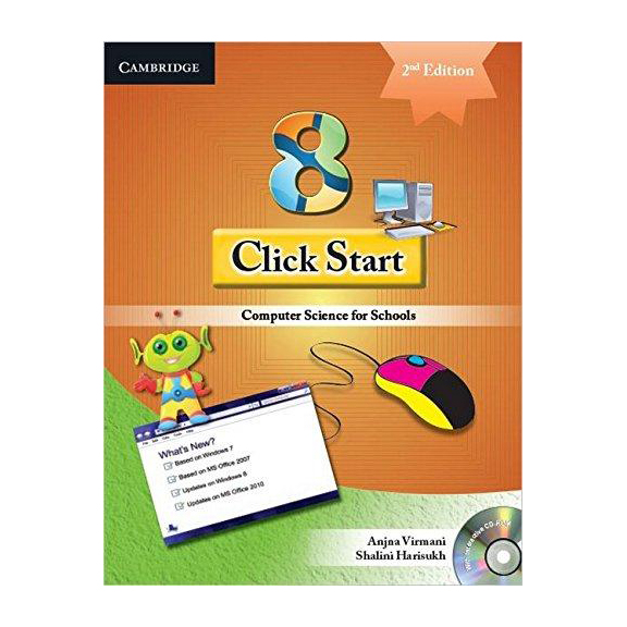 Click Start-8-2E with CD Computer Science For School B011318 large 1