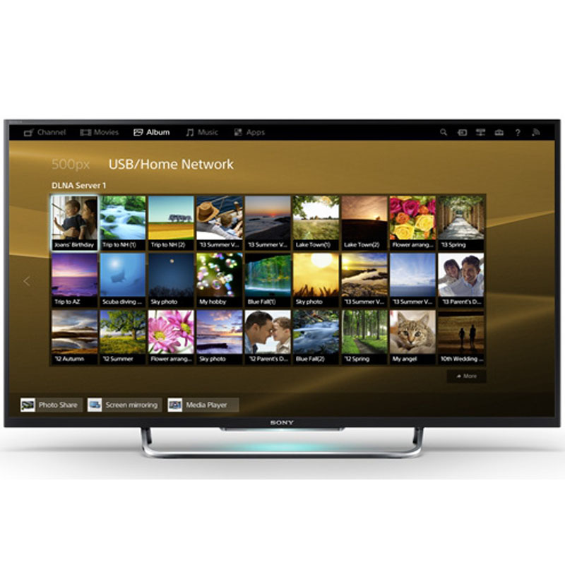 Sony Bravia 55 Inch 3D LED TV 55W800B large 1