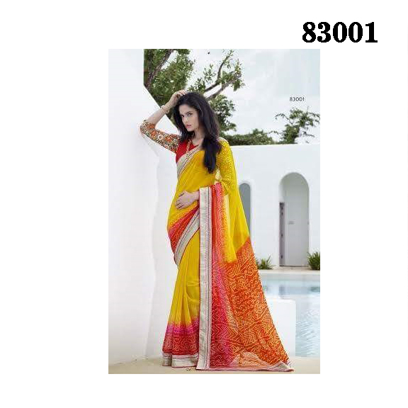 Designer Saree 83001 large 1