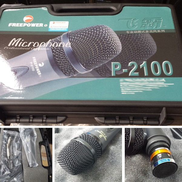 FREEPOWER Professional Dynamic Microphone large 1