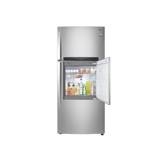 LG Refrigerator 411L Net Top Freezer GT D4111PZ