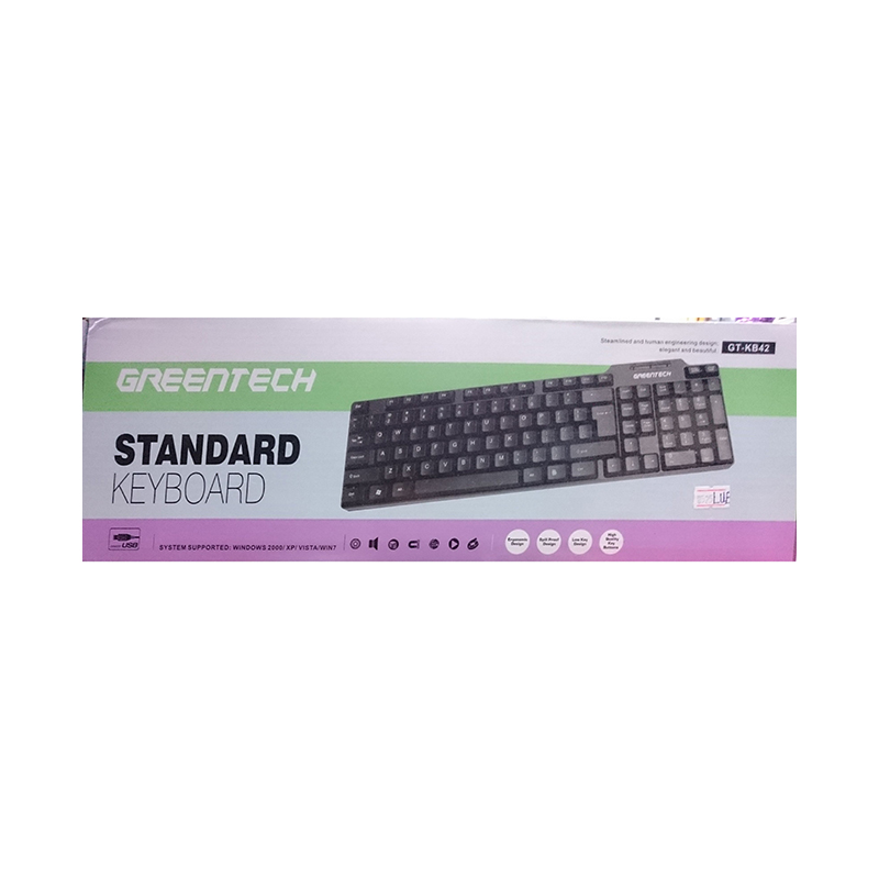 GreenTech USB Keyboard GTKB42