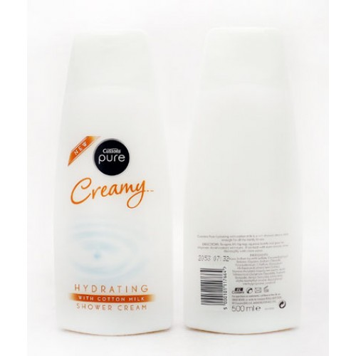 Cussons Pure Creamy Shower Cream 500ML large 1