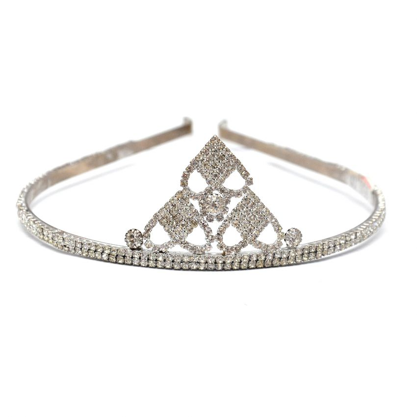 Silver Stone Girls Crown large 1
