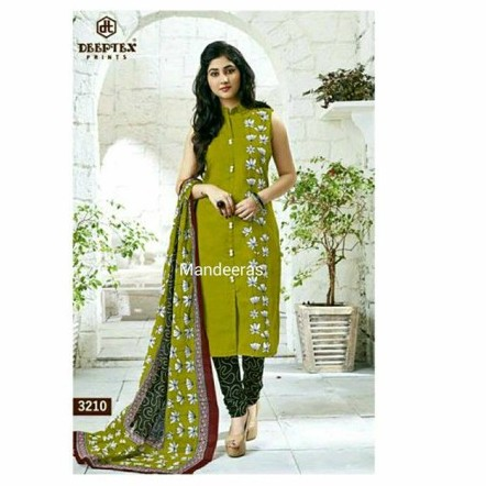 UN-STITCHED SHALWAR MATERIAL DESIGN NO 3210 large 1