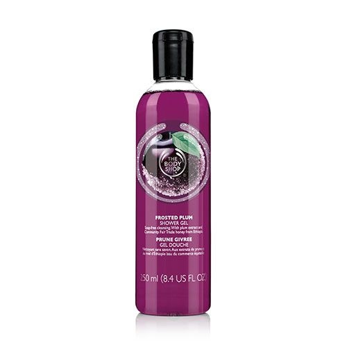 The Body Shop Frosted Plum Shower Gel large 1