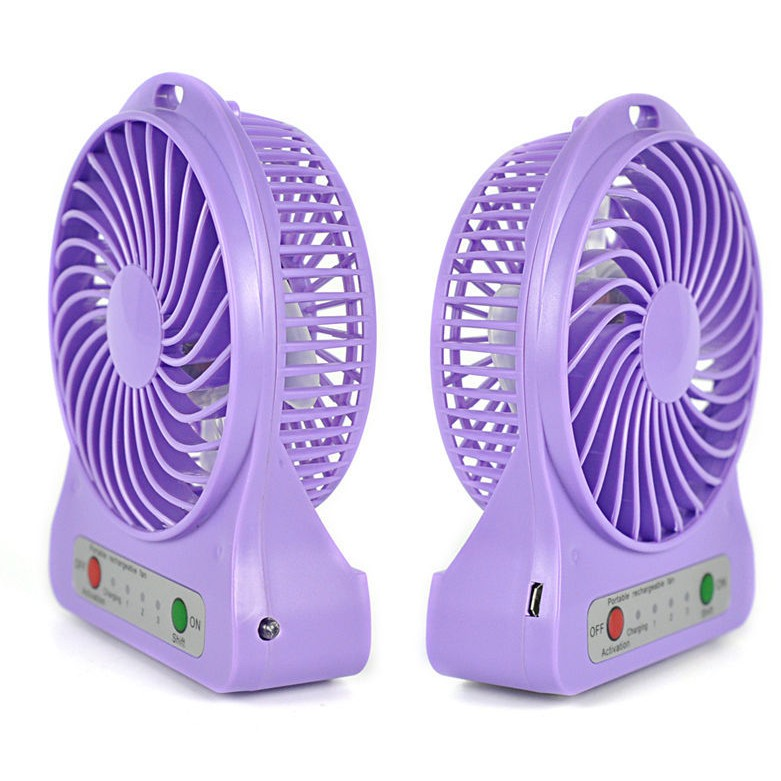 mini usb rechargeable portable table fan large 3