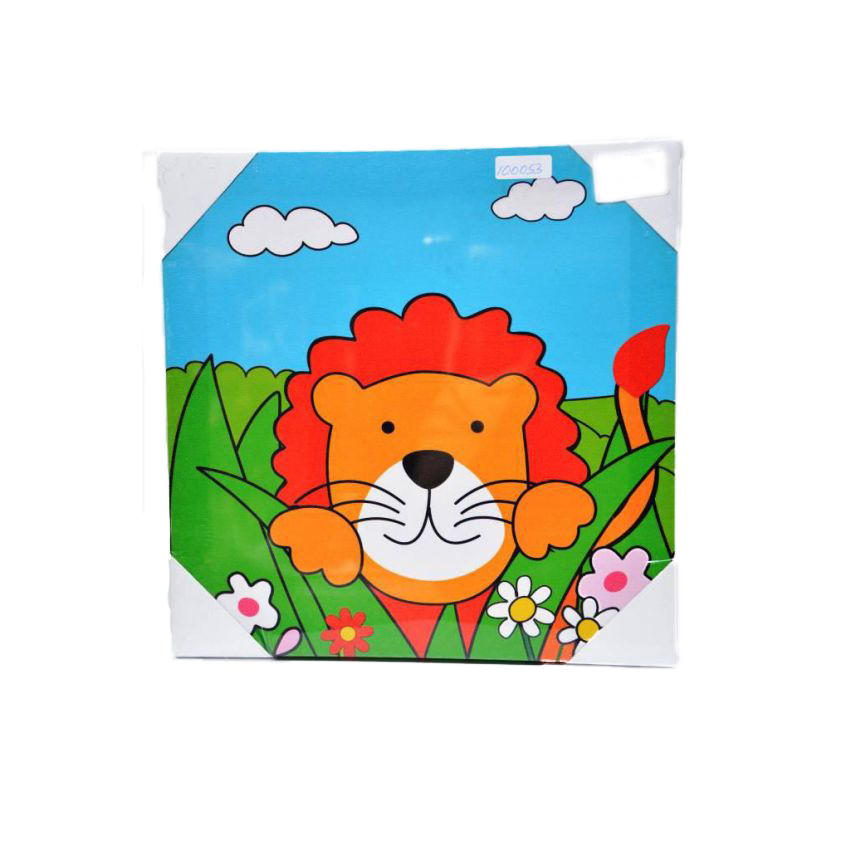 Lion Canvas Picture Frame large 1