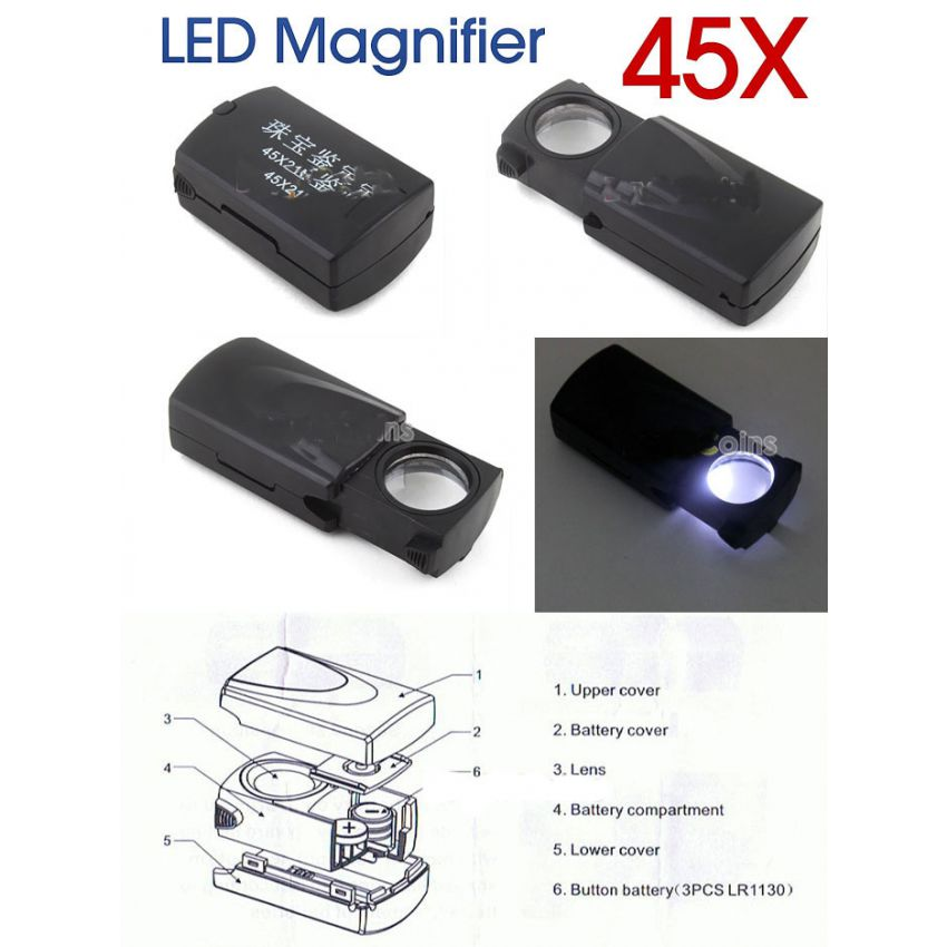 LED Microscope Magnifier large 2