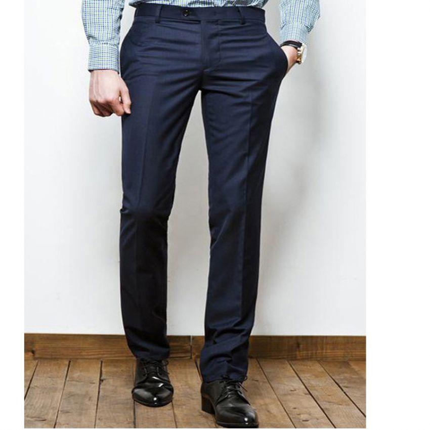 Mens Blue Tesco Slim Fit Pants