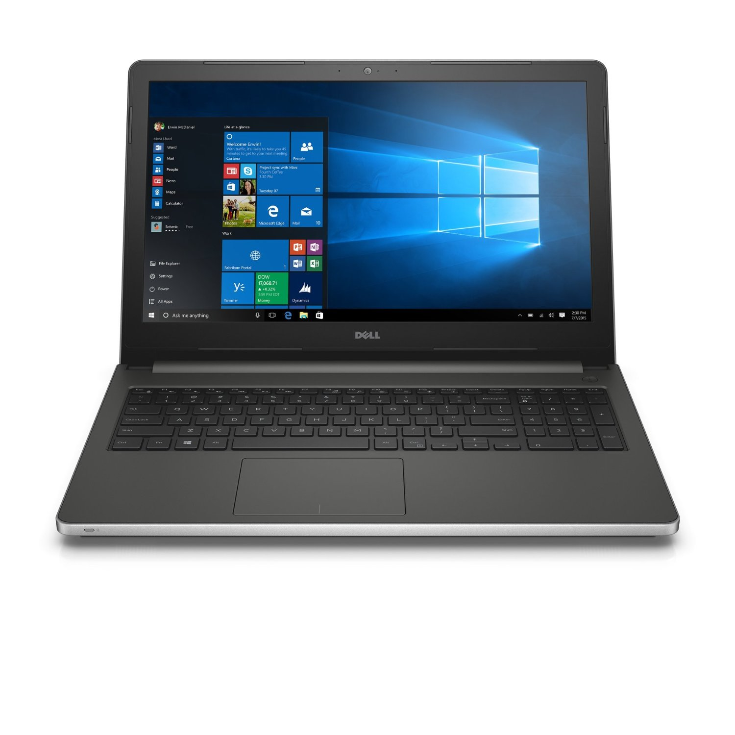 Dell Inspiron 15 5559 6th Gen Core i5 Notebook Windows large 1
