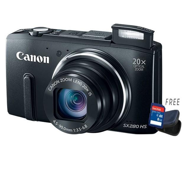 Canon Power Shot Sx280 Hs 12mp 20x Optical Zoom