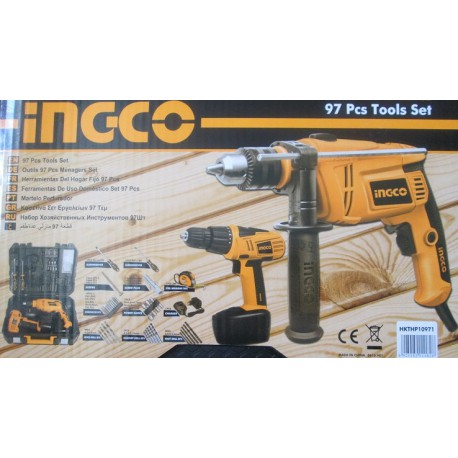 INGCO 97 Pcs Tools Set  HKTHP10971 large 1