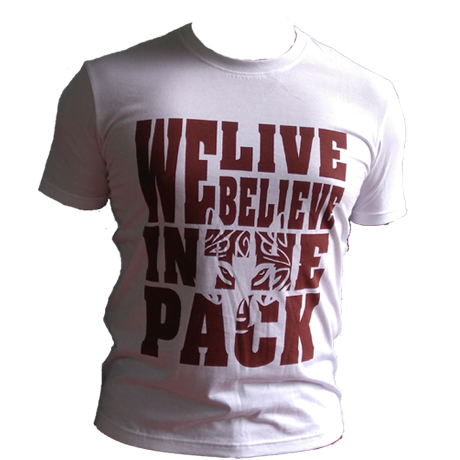 Wolf pack - white large 1