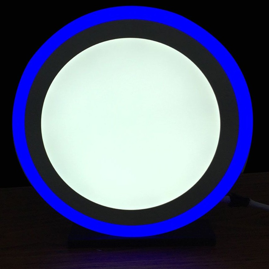 double color led panel light 12 W large 1
