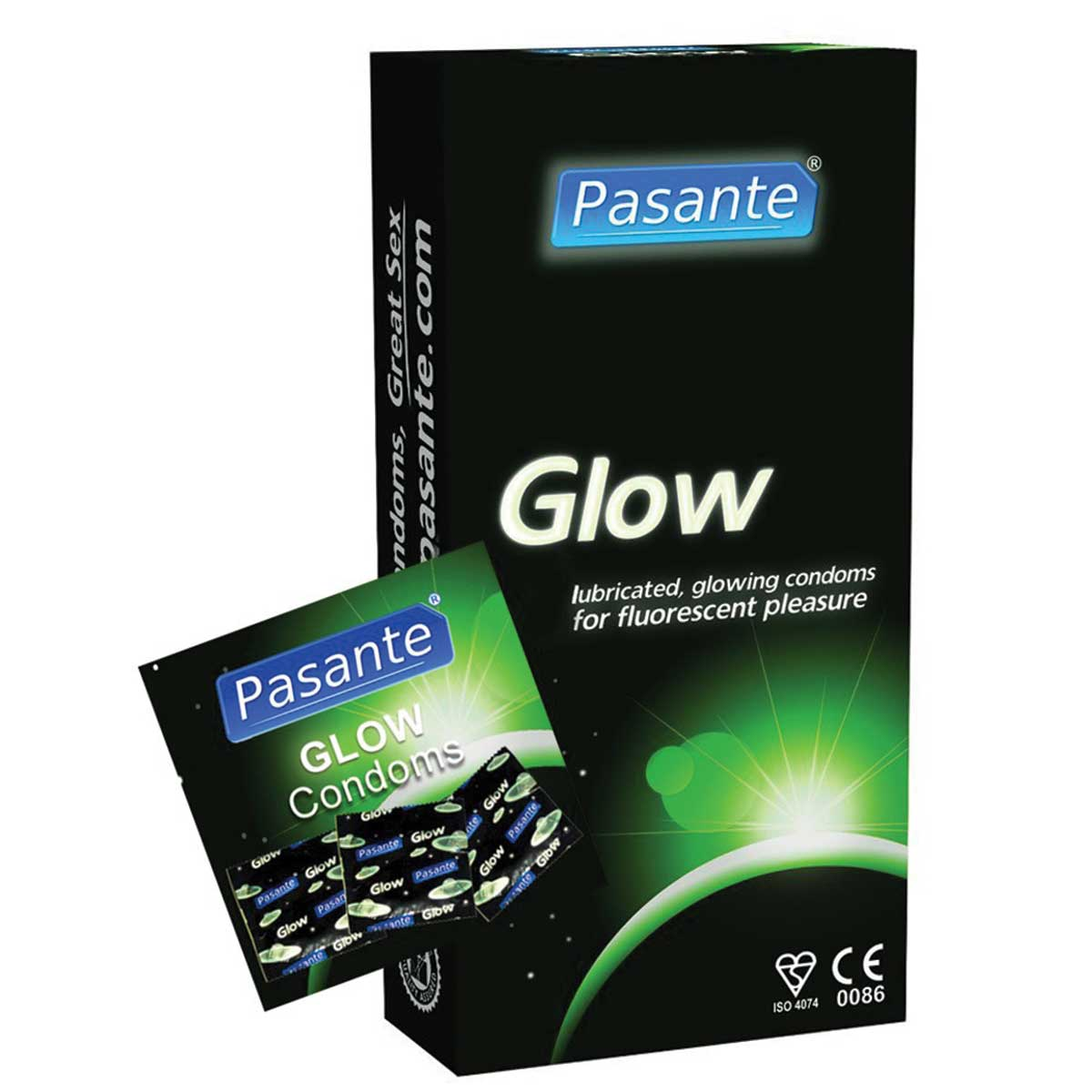 GLOW IN THE DARK CONDOMS large 1