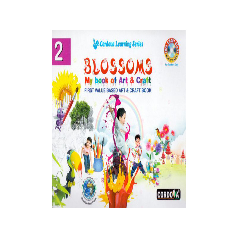 Blossoms My Book Of Art & Craft-2 D770032 large 1