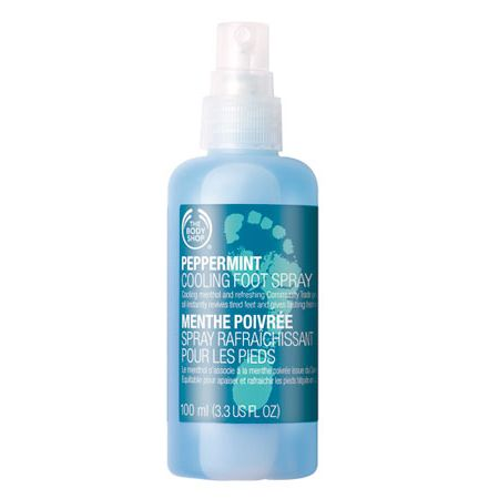 The Body Shop Peppermint Cooling Foot Spray TBS 141 large 1