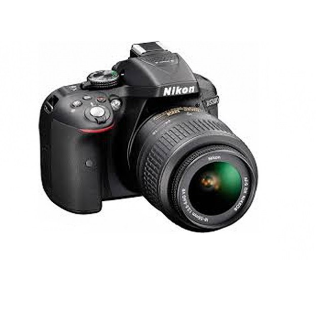 NIKON D5300 24.2 MP CMOS DIGITAL SLR CAMERA WITH 18-55MM F/3.5-5.6G ED VR II AF-S DX NIKKOR ZOOM LENS