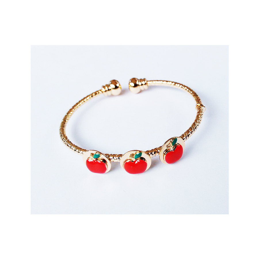Cute Apple BABY Bangle EZBA062 large 1