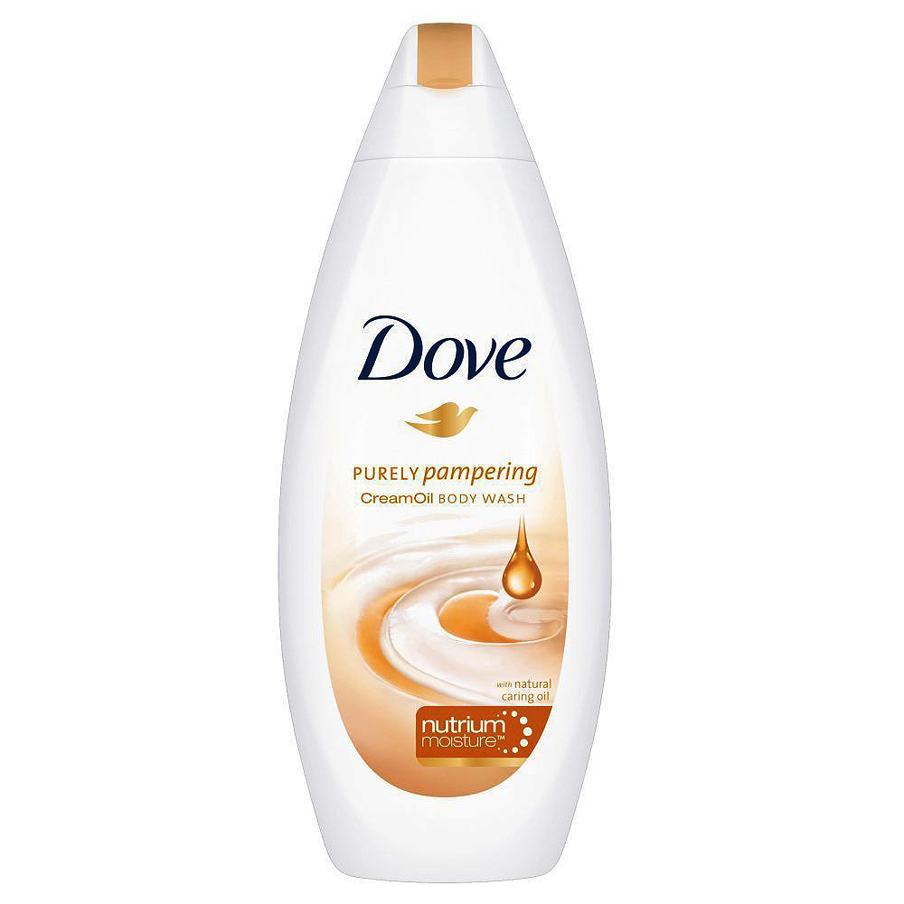 Dove Purely Pampering Body Wash Cream Oil 400ml large 1