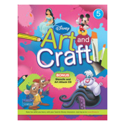 Disney Art And Craft 5 with CD B060522 large 1