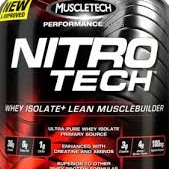 Nitro tech 4Lbs supplement large 1