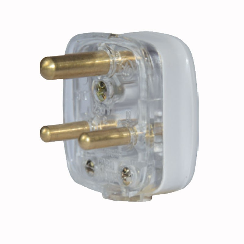 Plug Tops 5Amp Plug top Transparent Polycrome MP035 large 1