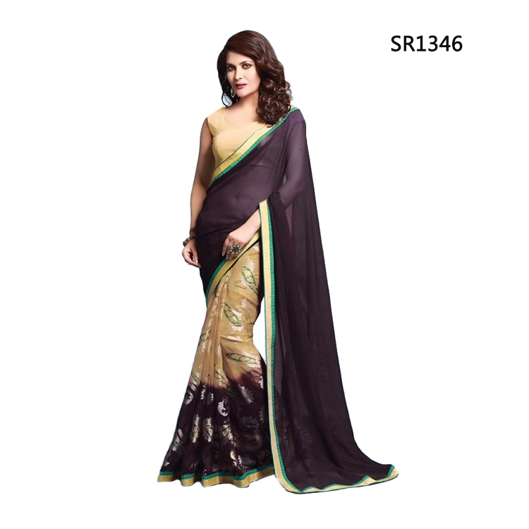 Pavithra Party Wear Saree SR1346 large 1