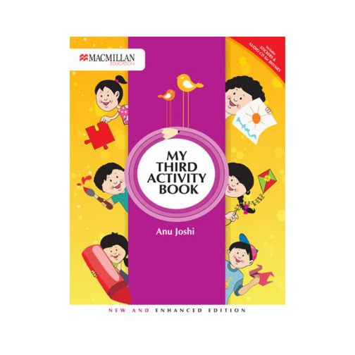 My Third Activity Book 3E with CD B100516 large 1