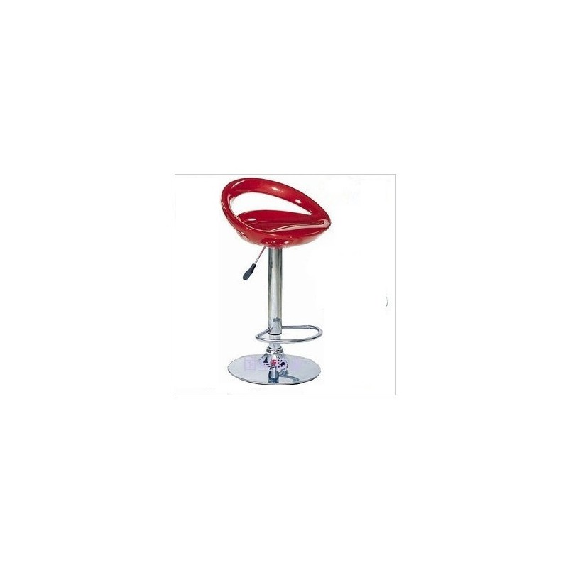 Bar Chair Red large 1