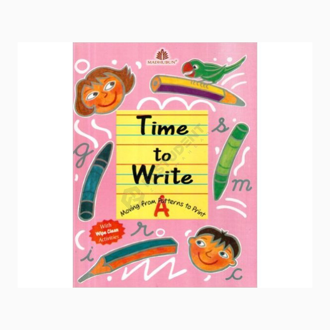 Time To Write-A Revised Edition B320953 large 1
