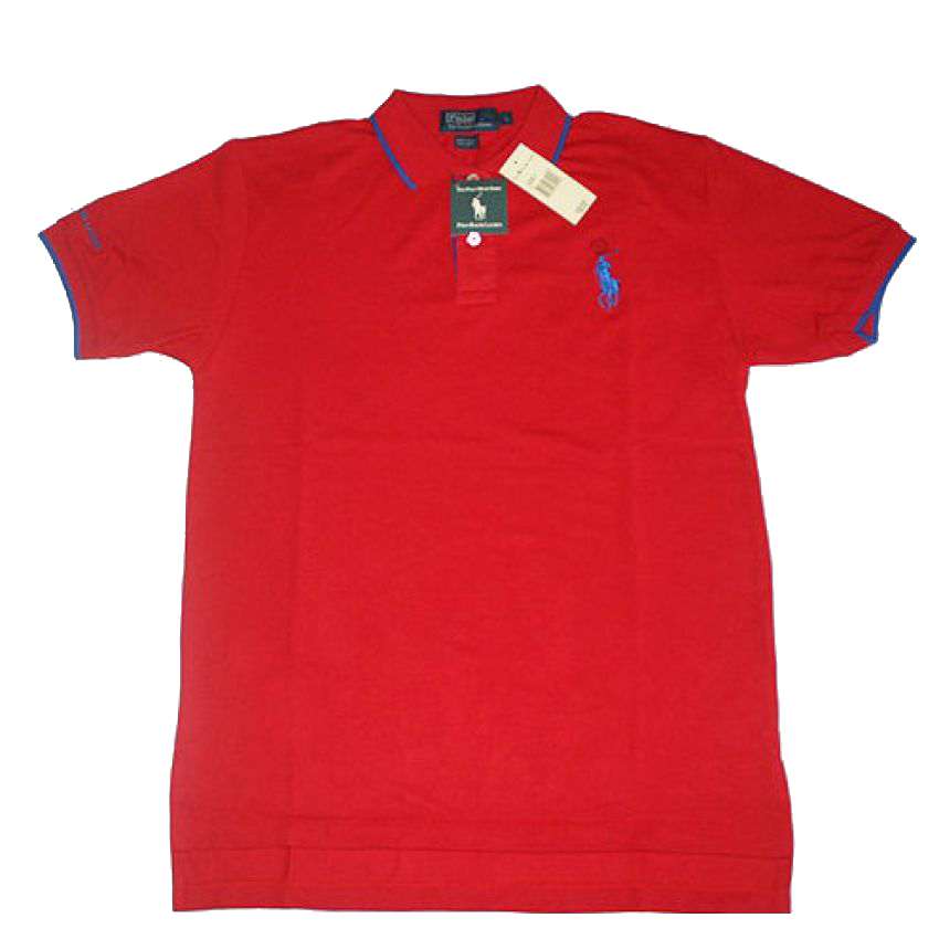 Mens Golf Red T Shirt