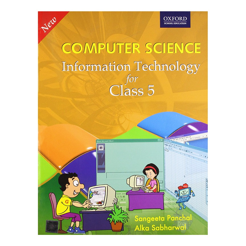 New Computer Science Information Technology For Class-5 B030618 large 1