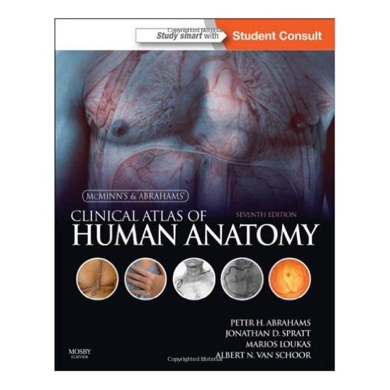 McMinn's Clinical Atlas of Human Anatomy 7th Edition A040360 large 1