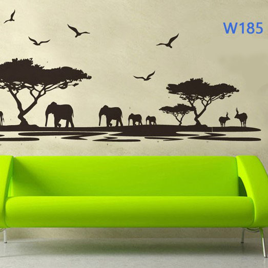 Wall sticker-African Animal large 1