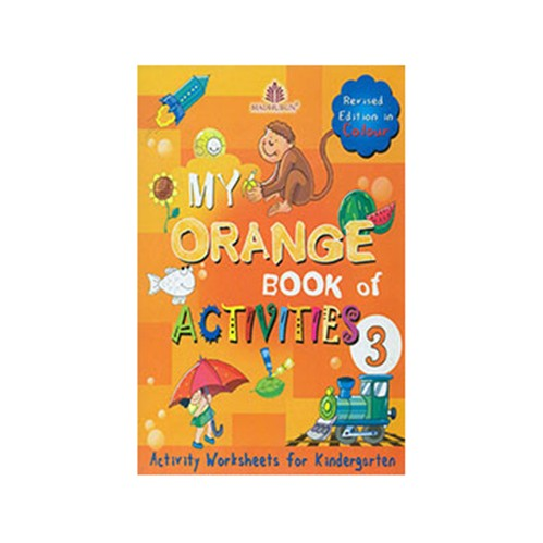 My Orange Book Of Activities-3 Revised Edition In Colour B320989 large 1