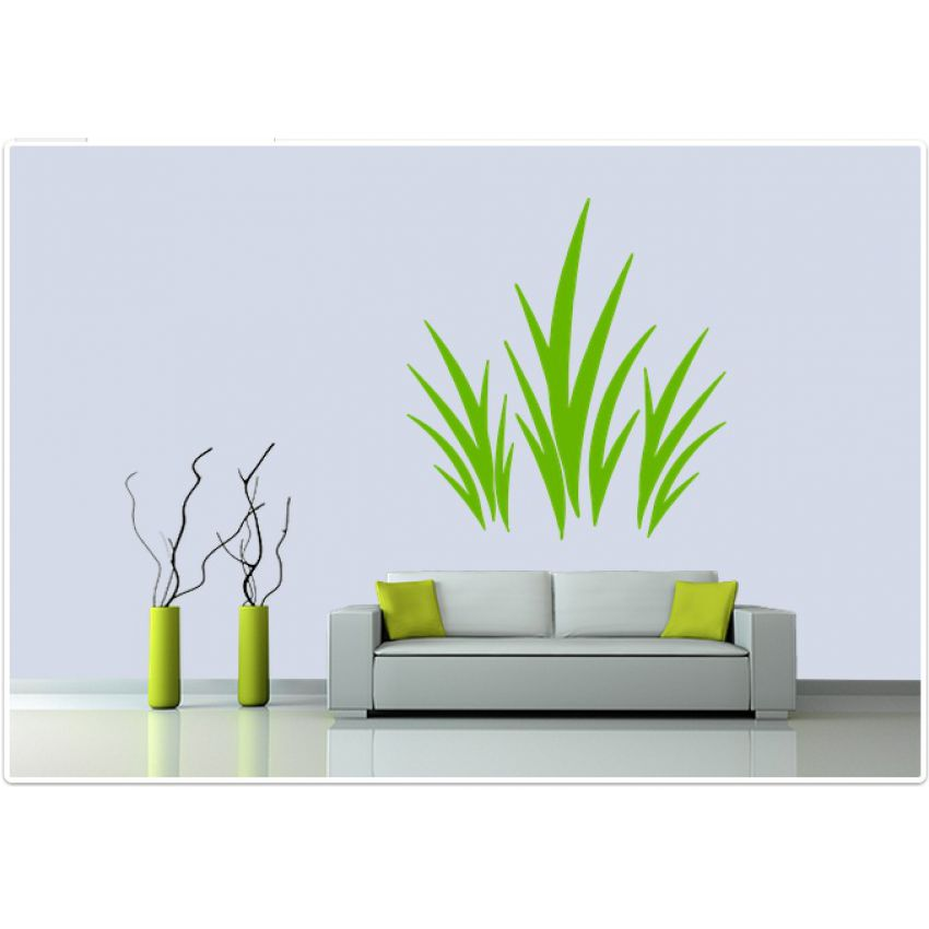 Grass Set Wall Sticker large 2